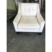 Cream / Brown Piping Chair