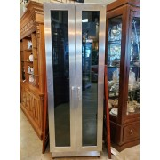 Tall Chrome Wine Cooler