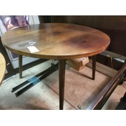 Round Wood Table AS IS