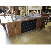 Vintage Desk With Black Front