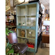 Turquoise Tall Bookcase