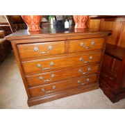 Sleigh - Wood File Cabinet