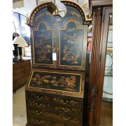 Two Piece Asian Secretary Desk