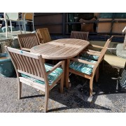 Gloster - Patio Table / Six Chairs