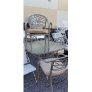 Hampton Bay - Patio Table With Four Chairs