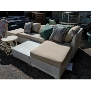 White Outdoor Sectional