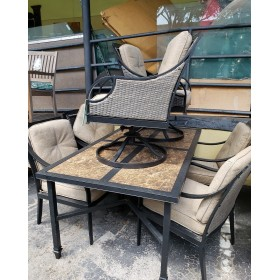 Patio Table With Six Chairs