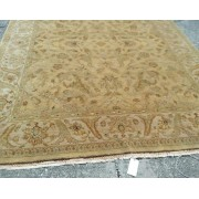 8 x 10 Yellowish Wool Rug