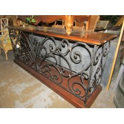 Metal / Wood Console Table