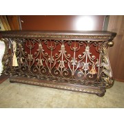 Metal / Ornate Console Table
