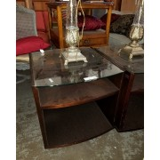 Side Table / Glass Top