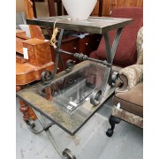 Rectangle - Metal Base / Tile Top Coffee & End Table