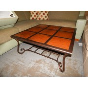 Copper Top Coffee & End Table