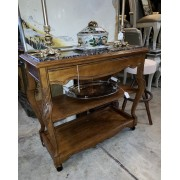 Tall Buffet Table On Casters