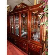 Two Piece Cherry Armoire