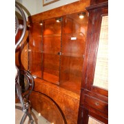 Retro / Burled Wood Hutch