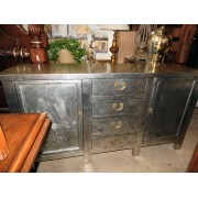 Silver Leafed Credenza