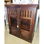 Rustic / Carved Cabinet