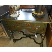 Small Green Painted Asian Desk