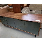 Wood / Mirror Front Cabinet