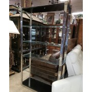 Milo Baughman - Chrome/Glass Etagere