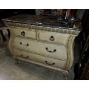 Cream Chest / Marble Top