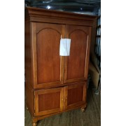 Dark Brown Armoire AS IS