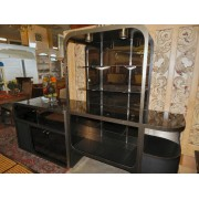 Black / Silver Entertainment Unit