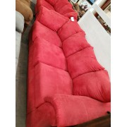 Red Sofa & Love Seat