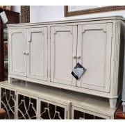White Rustic Sideboard