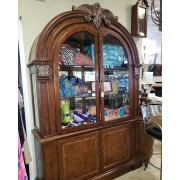 Two Piece Arched Top Hutch