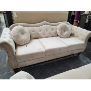 Tommy - Cream Sofa AS IS