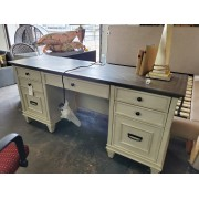White / Grey Top Desk