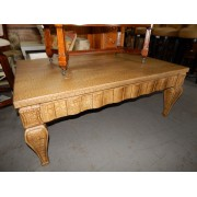 Large Crackle Coffee Table