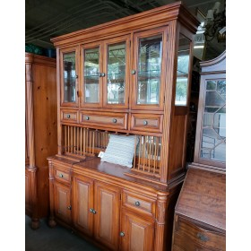 Two Piece Tropical Style Hutch